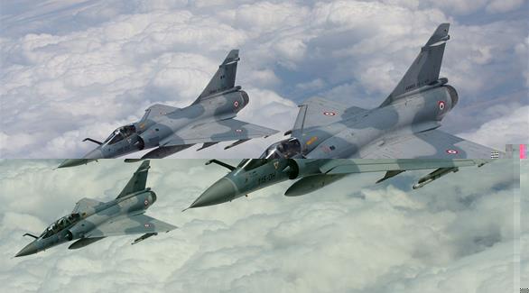 فرنسا ترسل 6 طائرات لمقاتلة داعش