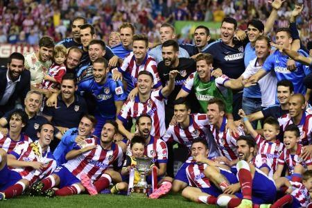 أتلتيكو مدريد بطلاً لكأس السوبر الإسباني