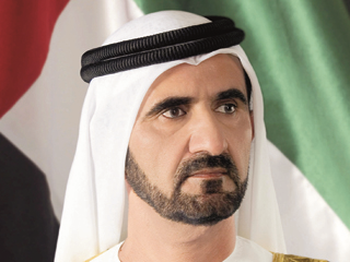 """محمد بن راشد يوجه للشعب الإماراتي """"رسالة حالة الاقتصاد"""""""