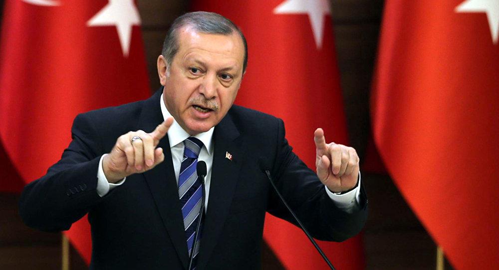 أردوغان: لا يحق للولايات المتحدة إملاء شيء على تركيا حول