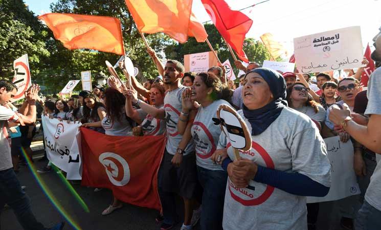 """""""النهضة"""" التونسية: المصادقة على قانون المصالحة خطوة ضرورية"""
