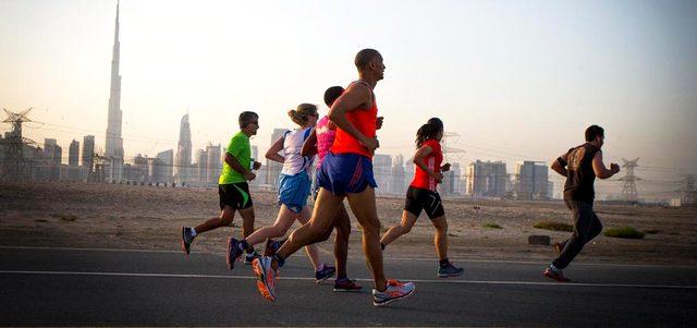 800 مشارك ينطلقون اليوم في سباق دولي خيري بدبي