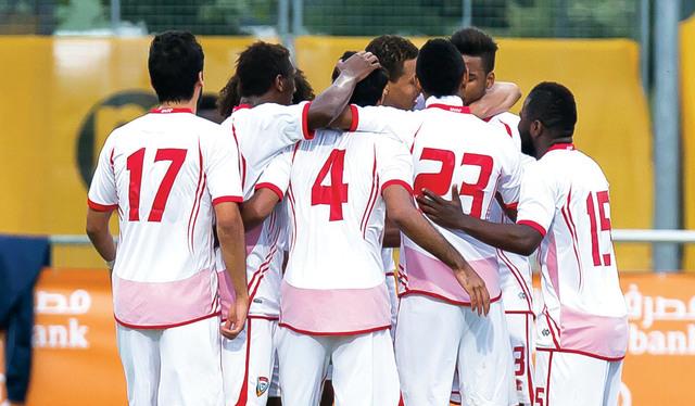 الامارات على رأس المجموعة الثانية في كأس الخليج