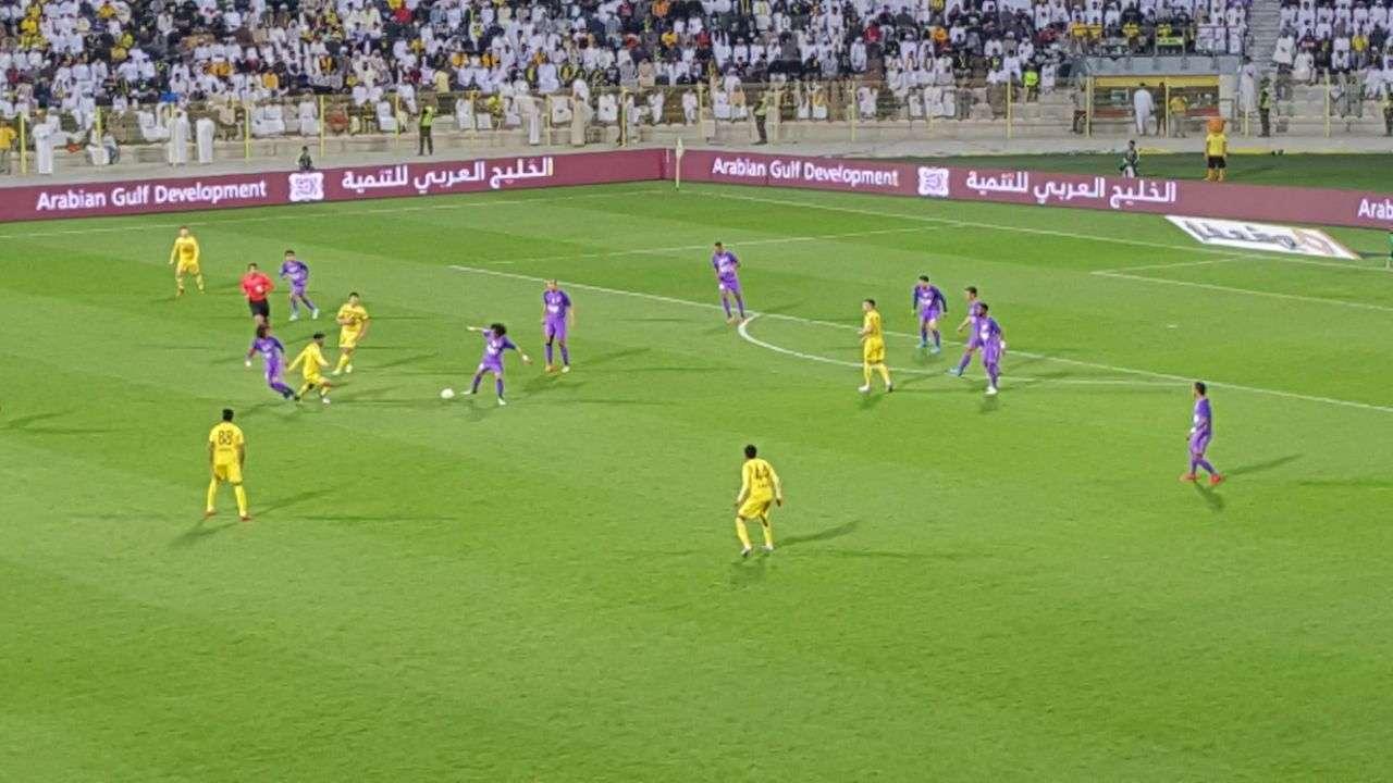 العين يهزم الوصل 3-1 وينفرد بصدارة دوري الخليج العربي