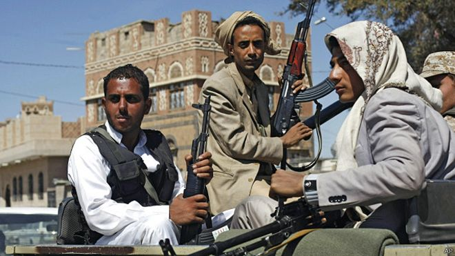 """مقتل """"مئات"""" الحوثيين خلال معارك عنيفة في البيضاء"""