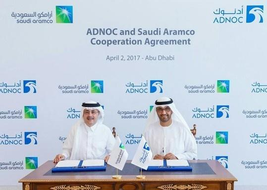 """اتفاق تعاون بين """"أرامكو"""" السعودية وكبرى شركات أبوظبي"""