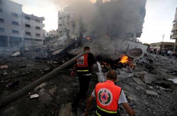 الحكومة الفلسطينية : 4 مليارات دولار خسائر العدوان على غزة