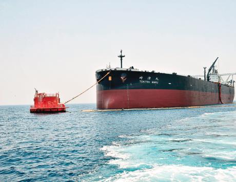 أدنوك تبدأ بتصدير أول شحنة من المزيج النفطي داس
