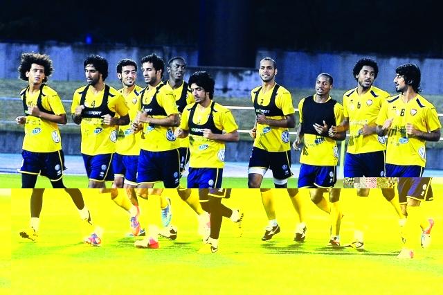 المنتخب الوطني يغادر الى مدينة الدمام استعداداً لكأس الخليج22