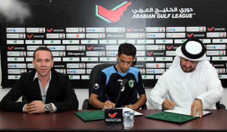 نادي الإمارات يتعاقد مع المغربي يوسف القديوي