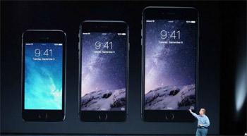 """بيع 4 ملايين جهاز من """"ايفون 6"""" في 24 ساعة"""