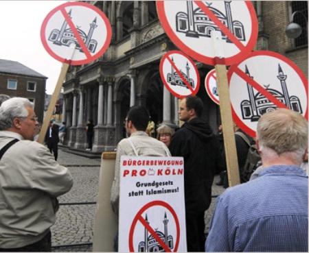 زيادة عدد الاعتداءات على المساجد و المباني الإسلامية في ألمانيا ب 2015