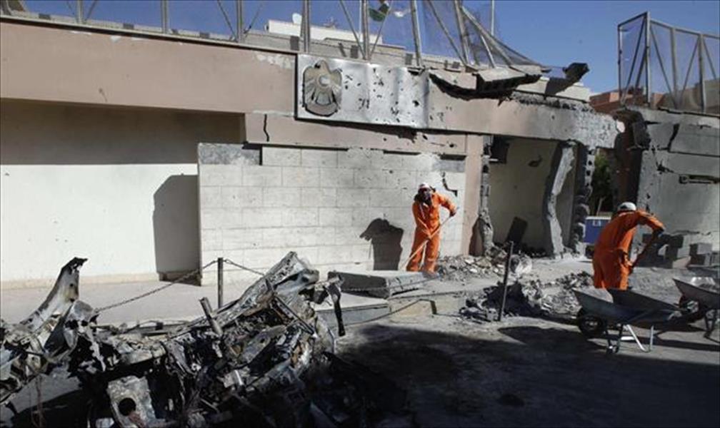 الإمارات تستنكر تفجيرات ليبيا وخليفة يوجه بعلاج الجرحى