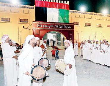 20 ألف زائر لمهرجان رأس الخيمة الرمضاني