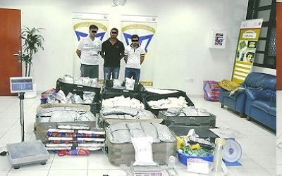 الإمارات تحبط عملية تهريب مخدرات بقيمة ربع مليار درهم