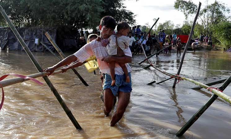 مسلمو الروهينغا يستغيثون للخروج من ميانمار.. والبوذيون: سنقتلكم جميعا