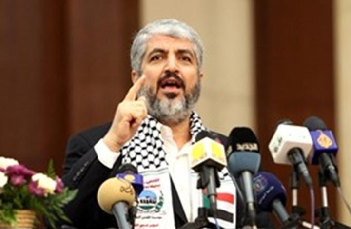 مشعل: ماضون في مقاومة الاحتلال حتى لو وقفنا وحدنا