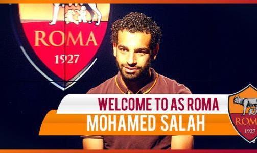 رسمياً.. النجم المصري محمد صلاح إلى روما الإيطالي