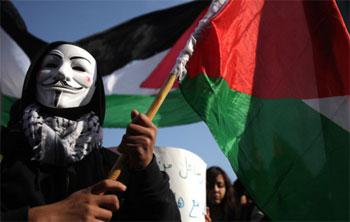 قراصنة الانترنت يهاجمون مئات المواقع الإسرائيلية